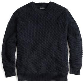 United By Blue Organic Cotton Suéter Cuello Redondo Hombre, negro